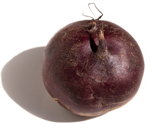 Whole beet root