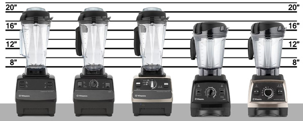Vitamix blender lineup