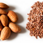Almonds and Flax Seeds