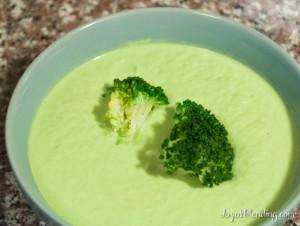 Vitamix Broccoli Soup