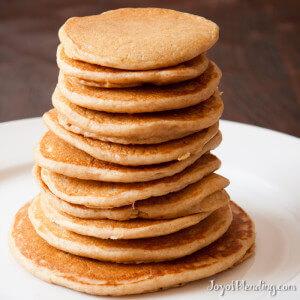 Vitamix pancake stack