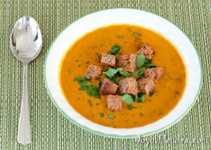 Chunky Vitamix Soup