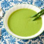 Vitamix Asparagus Soup