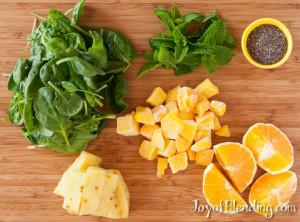 Vitamix Mint Smoothie Ingredients