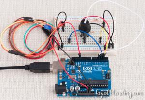 Arduino strobe setup
