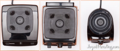 Vitamix 5200 7500 S30 Top View