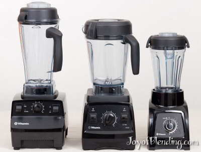 Vitamix 5200, 7500, and S30
