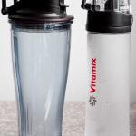 Vitamix Smoothie Bottles with condensation
