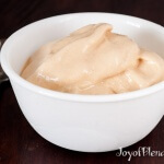 Honey peanut sorbet