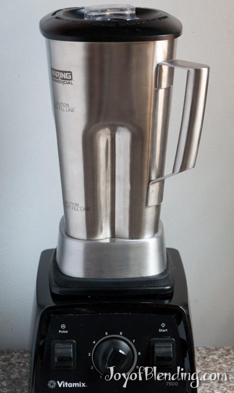 Stainless Steel Blender ~ Stainless steel jar for vitamix blenders joy of blending