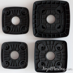 Vitamix and Waring centering pads undersides