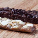Chocolate chocolate chip and white chocolate macadamia homemade larabars