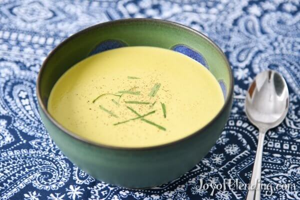 Vitamix Thai Ginger Soup served in bowl