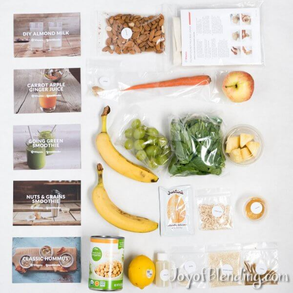 GreenBlender Vitamix Starter Kit Full Contents