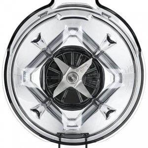 Top view of Vitamix Ascent 48-oz wet blade