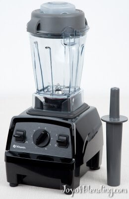 Vitamix E310 with container and tamper
