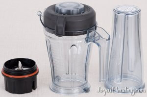 Space Saving (S-Series) Vitamix containers
