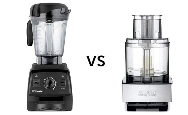 Vitamix vs Food Processor