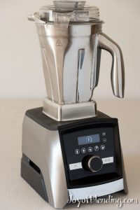 Stainless steel Vitamix container on A3500