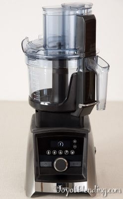Vitamix Food Processor Attachment on A3500